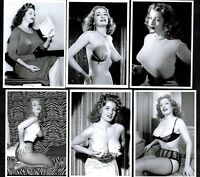 Storm Tempest Postcard Set 1  Pin-Up Girl Nylon Stockings Erotic Burlesque Strip