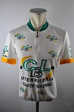 Bicycle line CBL bike Cycling Jersey maglia rueda camiseta talla M 3 BW 49cm g-13