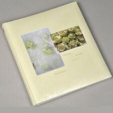 Henzo Fotoalbum Hochzeit Foto Gästebuch 60 Seiten Rosen In creme oder rot