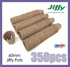 60mm Jiffy Round Pots x 350pcs - Great for Propagation & Seedling