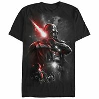 Star Wars Men's Dark Lord Darth Vader Graphic T-Shirt,, Black, Size Medium hVXw