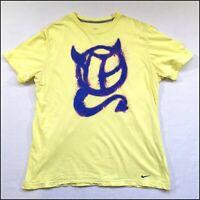 Nike x Manchester United T-Shirt   XL   Yellow/Purple   Rare