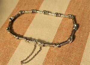 Vintage 9ct White Gold and Diamond Tennis Bracelet