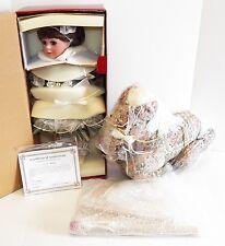 "Treasured Heirloom Collection ""KYRA"" & Carousel Horse by JANIS BERARD 90/1000"