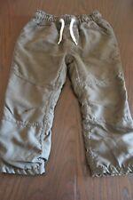 Thermo Baby Hose grau/grün Gr. 92 von C&A Jungen