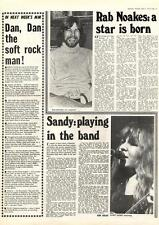 Sandy Denny Playing In The Band Rab Noakes A Star Is Born MM4 Interview 1974