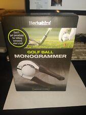 New Golf Ball Monogrammer by Berkshire