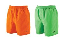 Zoggs Men's Penrith Swimming Shorts. Orange or Lime . Perfect for Pool or Beach