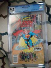 Action Comics #583 - Cgc 9.4 Nm- - Dc 1986 - Classic Alan Moore Superman Story!