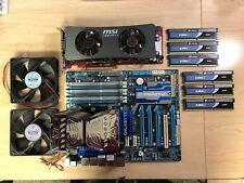 Gigabyte GA-X58A-UD5 Motherboard BUNDLE, Corsair 12GB, Intel Xeon, Video Card +