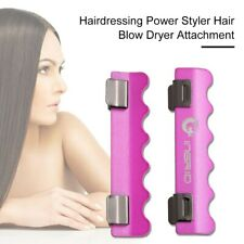 Power Hair Styler Hairdresser Attachment File Blow Dryer Cuts Clips Time half