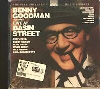 BENNY GOODMAN VOL 2 Live at Basin Street Yale Univ Library CD VG Cond Plays Grt