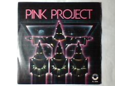 """PINK PROJECT Disco project 7"""" ITALY"""