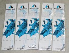 Lote 5 Paquetes Nuevo Mustad Montados en Sedal Beak Anzuelos para Pescar