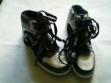 PINEAPPLE HI TOP LACE UP TRAINERS SZ 5 B.N