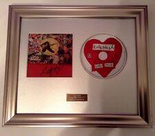 PERSONALLY SIGNED/AUTOGRAPHED KATE NASH - GIRL TALK CD  FRAMED PRESENTATION.RARE