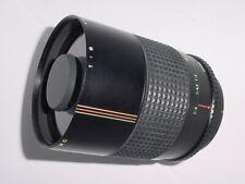 Canon FD Fit MAKINON 500mm F/8 MC REFLEX MIRROR Manual Focus Lens * EX++