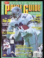 SCD Sports Card Price Guide October 1994 Emmitt Smith jhscd