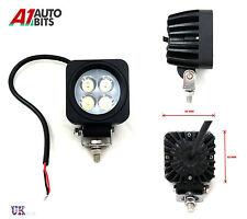 QUADRATO 12v 24v 4 LED LUCE DA LAVORO LAMPADA RAGGIO RIFLETTORE 4x4 JEEP SUV ATV CAMION 4x4