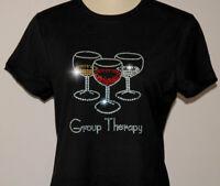 Rhinestone Group Therapy T-Shirt