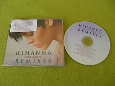 Rihanna - Take A Bow - Remixes 10xTracks RARE Israel Promo Def Jam RIBOWCDX1 CD