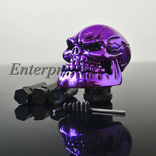 Auto Skull Head Type Universal Custom Manual Stick Gear Shift Knob Lever Shifter