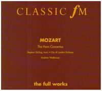 HORN CONCERTOS - Wolfgang Amadeus Mozart CD (1998) Expertly Refurbished Product