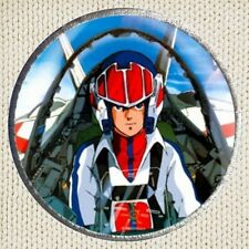 Robotech Rick Hunter Patch Picture Embroidered Border Macross VF-1J Hikaru