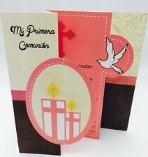 Invitaciones de Primera Comunion (Spanish First Communion Invitations) girls
