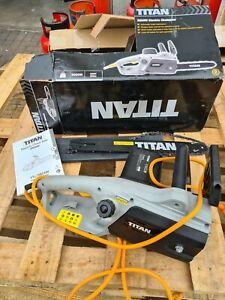 Titan TTL758CHN 230V 2000W Corded Electric Chainsaw