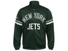 New York JETS Officially Licensed NFL Center Field Track Jacket ~ MEDIUM