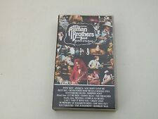 ALLMAN BROTHERS BAND - BROTHERS OF THE ROAD - VHS PAL LIVE - BUONE CONDIZ. V30