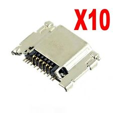 Lot 10 Charging Port Micro USB Samsung Galaxy S3 i535 i747 L710 T999 i9300 OEM