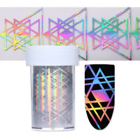 Nagelfolie Nail Foils Holographisch Prüfen Maniküre Nagelsticker Nail Decals DIY