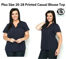 Polyester Formal Geometric Tops & Shirts for Women