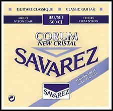 Savarez 500 CJ Corum New Cristal Classical Guitar Strings High Tension