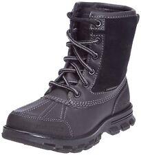 NOUVEAU MARC ECKO UNLTD Braxton Cody Polaire Doublé Hiver Neige Bottes Chaussures Noires UK 6