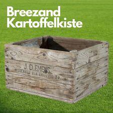 Sehr seltene J. Clemens Breezand Kartoffelkiste aus Holland 47,5 x 42,5 x 27,5cm
