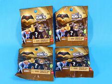 4x Batman v Superman Mighty Minis Series 1 Blind Bag Mystery Figures Sealed