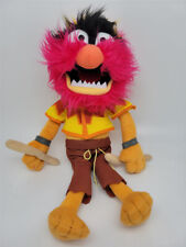 """Disney Store Muppets Most Wanted Animal Drummer 13"""" Plush Stuffed Toy"""