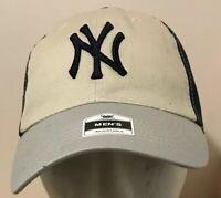 New York Yankees Adjustable Strapback Cap Hat Mens Fan Favorite MLB NWT