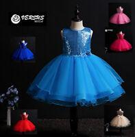 Vestito Damigella Cerimonia Abito Bambina Girl Party Bridesmaid Dress CDR087