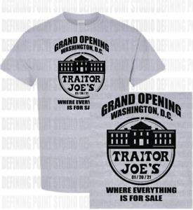 Traitor Joe's Trader Joe Biden Shirt | Funny Republican New 2021 President Trump
