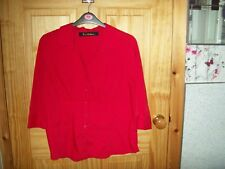 ***SALE*** EVIE RED DETAILED BLOUSE SIZE 18***