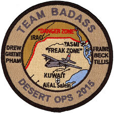 USAF 774th EXPEDITIONARY AIRLIFT SQUADRON – RESOLUTE SUPPORT 2015 PATCH