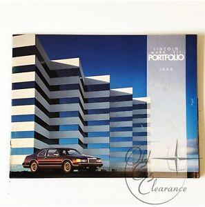 1988 Lincoln Mark VII Original Dealer Sales Brochure (P0120)