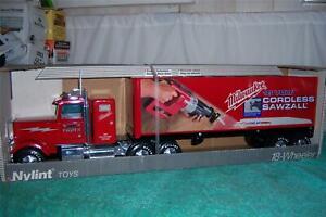 "Nylint Milwaukee Cordless Sawzall 1997 18 Wheeler Truck Mint In Box 24 3/4"" Long"