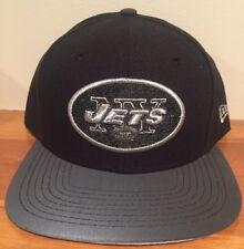 New York Jets Logo 3M Snapback 9Fifty by New Era hat cap Black NWT NFL