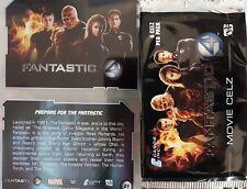 FANTASTIC FOUR MOVIE CELZ FULL SET OF TRADING CARDS X72