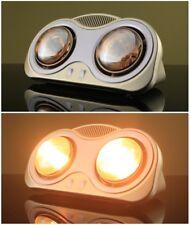HATTORI GNGB-2A 2 Golden Lamps Bathroom Heater Toliet Warmer 5m Cable 250W